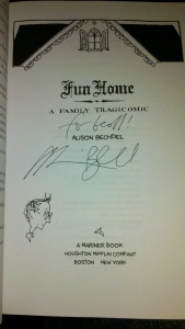 Fun Home - Alison Bechdel - Signed