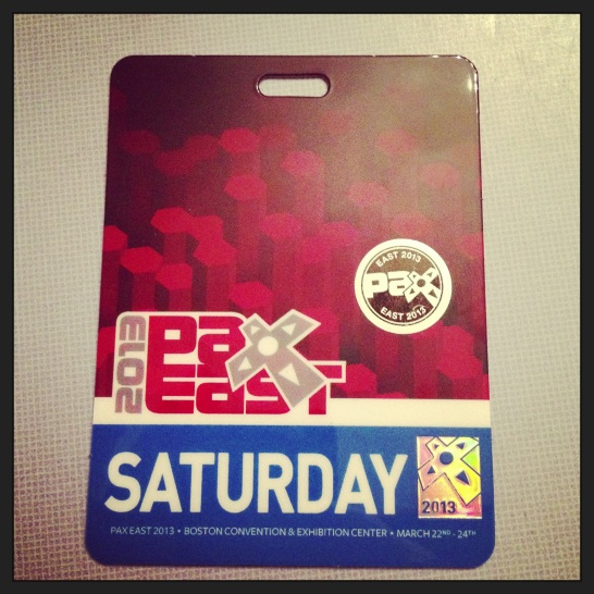 2013 03-19 PAX East Saturday Pass