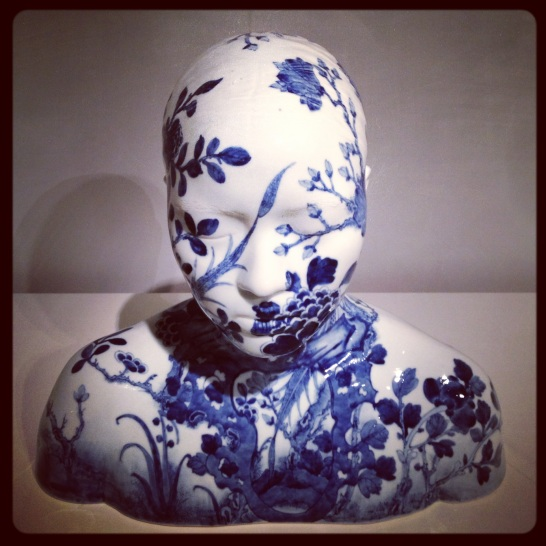 2013 04-21 MFA New Blue and White Bust