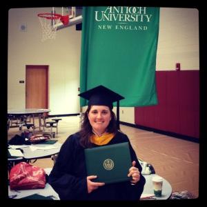 2013 05-18 Graduate Leigh!