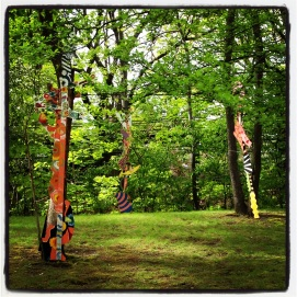 2013 05-08 Studios without Walls - Tree Dreams by Gail Jerauld Bos and Kathrine Douthit