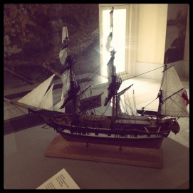 2013 05-19 BPL Map Center Charting an Empire - Ship