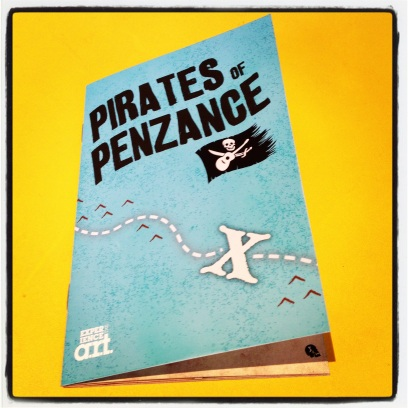 2013 05-19 Pirates of Penzance - Program