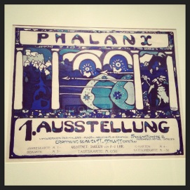 2013 07-13 MFA Art in the Streets - Poster for the First Phalanx Exhibition