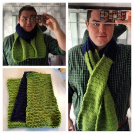 2013 11-15 And I Made A Scarf!
