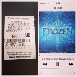 2014 02-03 Frozen Movie and Soundtrack
