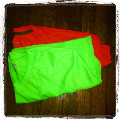 2014 02-09 Neon Workout Gear