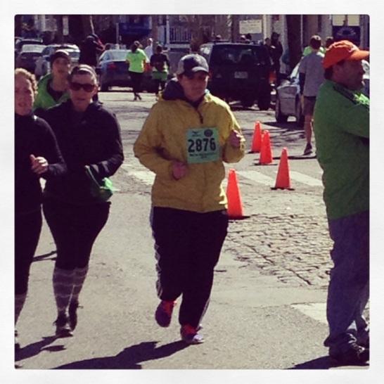 2014 03-16 - Leigh Running for Ireland First 5k
