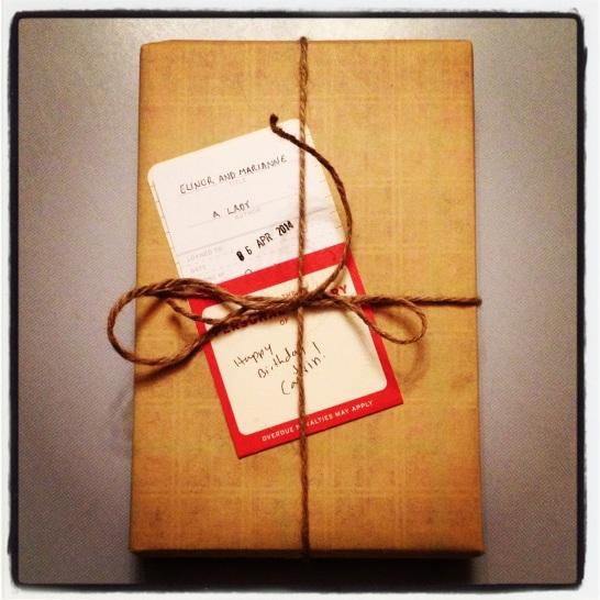 2014 04-06 Birthday Present for Caitrin