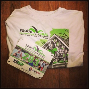 2014 04-08 Fool's Dual T-Shirt and Bib