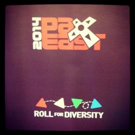 2014 04-12 - Pax East - Diversity Lounge