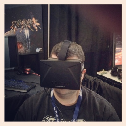 2014 04-12 - Pax East - Oculus Rift and Pete