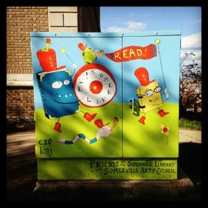 2014 05-06 Somerville Public Library Art