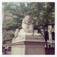2014 06-13 NYPL Fortitude the Lion
