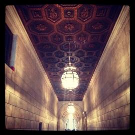 2014 06-13 NYPL Hallway Ceiling