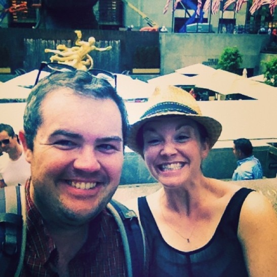 2014 06-14 Rockefeller Center Selfie