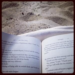 2014 07-06 Beach Reading!