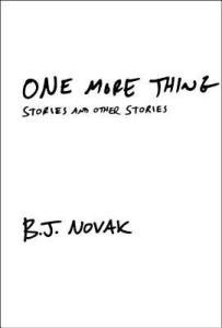 Novak, B. J. - One More Thing