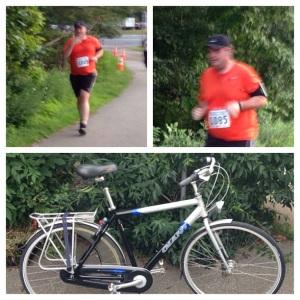 2014 08-06 Running and Biking