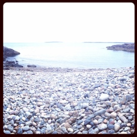 2014 09-13 Acadia National Park - Cobblestone Beach