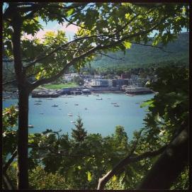 2014 09-14 Bar Harbor from Bar Island