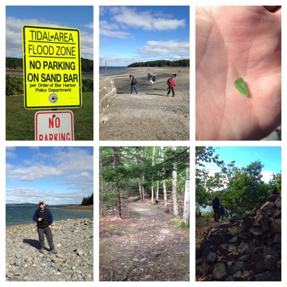 2014 09-14 Walking to Bar Island