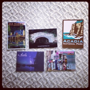 2014 09-15 Maine Postcards