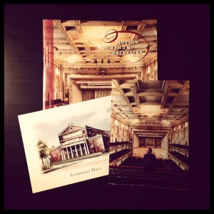 2014 11-28 BSO Program & Postcards