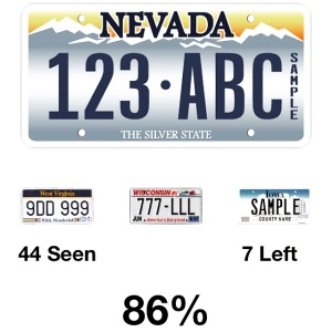2015 01-04 License Plate Game
