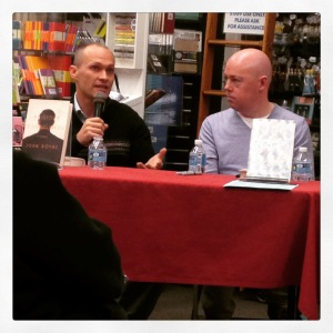 2015 03-09 Boyne and Vann at Harvard Book Store