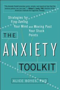 Boyes, Alice - The Anxiety Toolkit