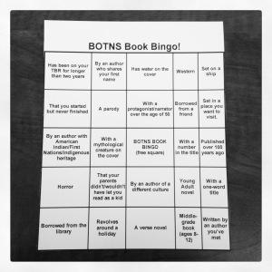 2015 05-26 BOTNS Summer Bingo