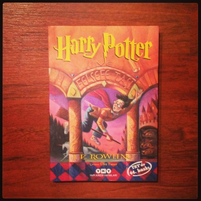 2015 06-09 Harry Potter in Turkish