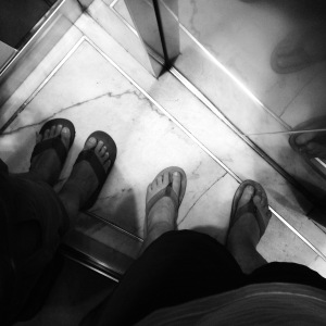 2015 06-09 Tiny Elevator Footie