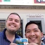 2015 06-10 Reina Sofia Museum Selfie