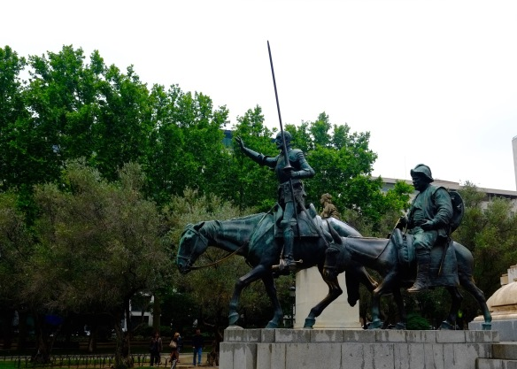 2015 06-11 Don Quixote & Sancho Panza Side View