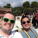 2015 06-15 Park Guell Selfie