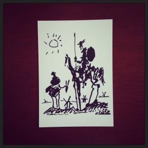 2015 07-02 Don Quixote Postcard