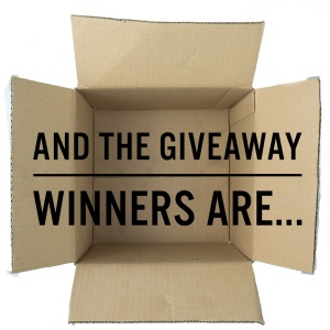 2015 07-27 Giveaway Winners