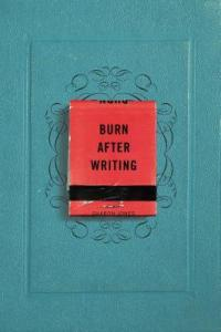 Jones, Sharon - Burn After Writing