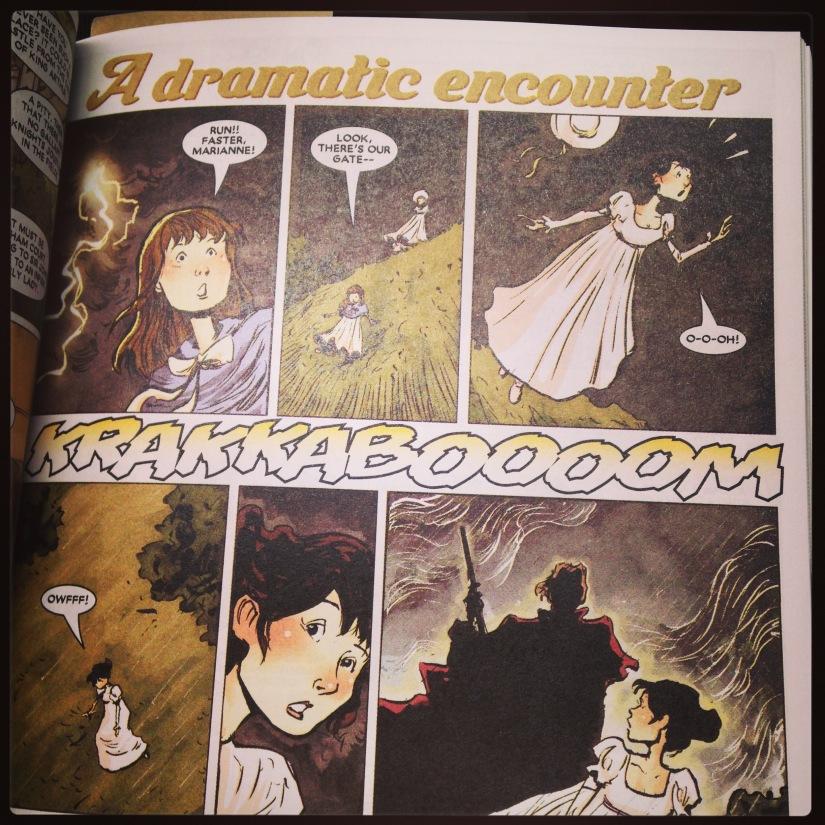 2015 10-23 Jane Austen Illustrated Drama