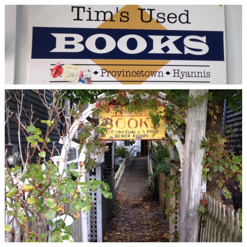 2015 10-17 Tim's Used Books PTown