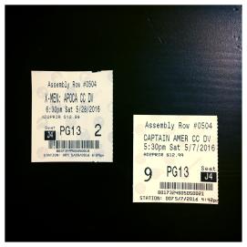 2016 05-28 May Movies