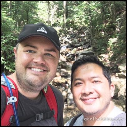2017.08.19 Flume Gorge Selfie