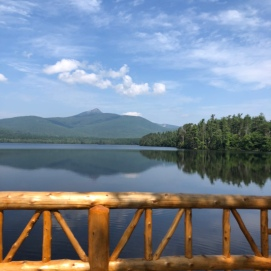 2018.08.25 Narrows Bridge on Lake Chocorua