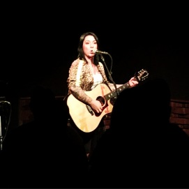 2018.09.06 Lucy Spraggan in Boston
