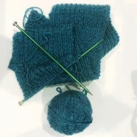 2018.09.26 Knitting Progress