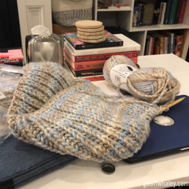 2018.11.19 Even More Christmas Knitting