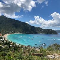 Beach in Tortola